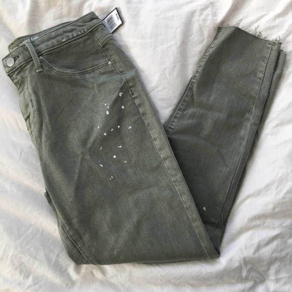 Mossimo Supply Co. Denim - NWT Paint Splatter Crop Jeggings